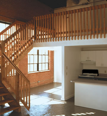 The Garage Loft Apartments Features Oklahoma Citys